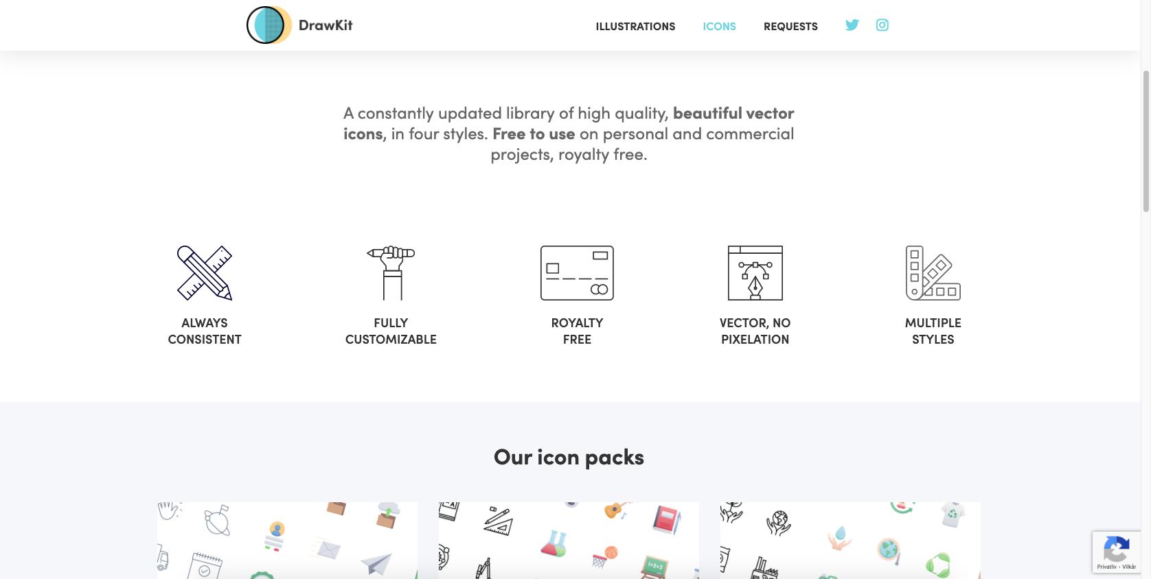 DrawKit skærmbillede